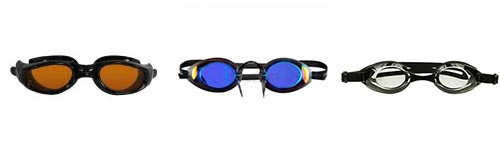 best swimming goggles, different goggles lenses, goggle lenses