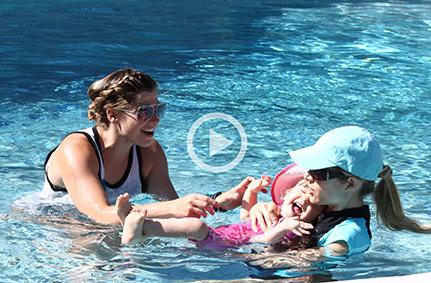 Diana Goodwin Aquamobile private swimming lessons main banner icon