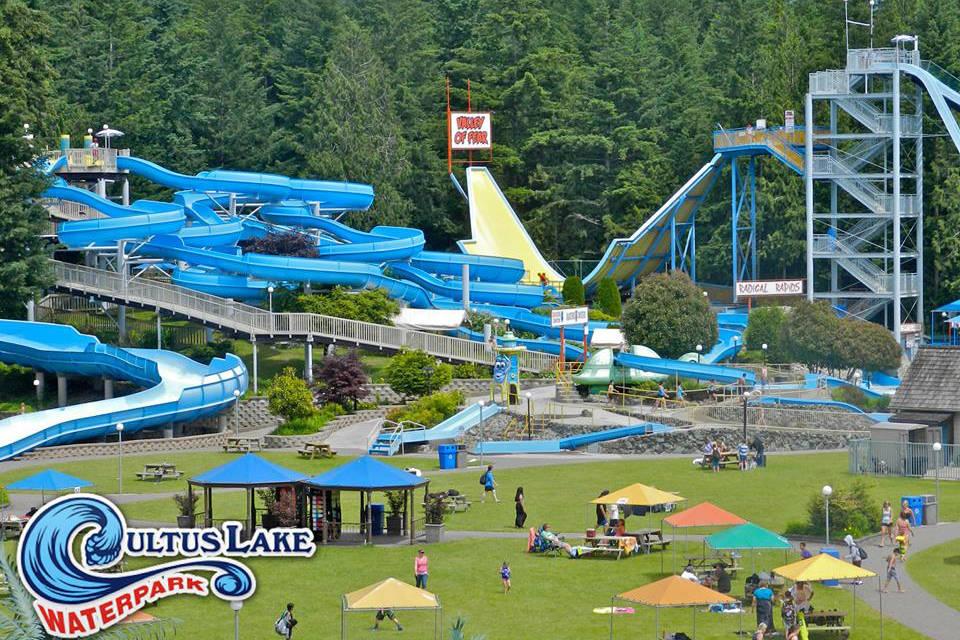 AquaMobile Swim presents the best waterparks in North America: Cultus Lake Waterpark
