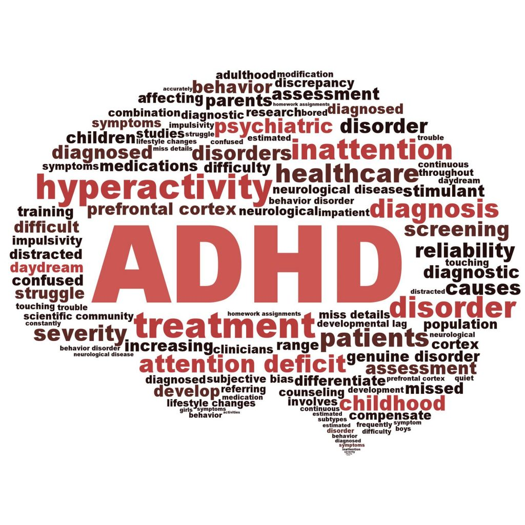 adhd, brain, swimming, pool, hyperactivity, children, mental health